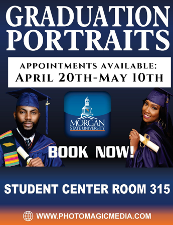 graduation portraits flyer